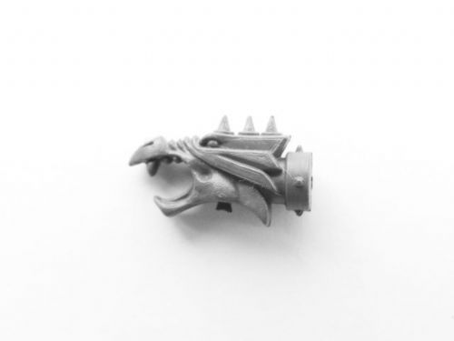 chaos space marine rhino gun barrel head (c)